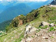 Het mooie Landschap van de Berg Royalty-vrije Stock Afbeelding