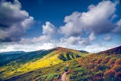 Het mooie Landschap van de Berg stock foto