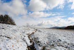 Het mooie landschap van de de herfstberg Royalty-vrije Stock Afbeelding