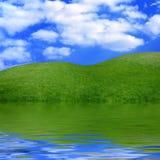 Het mooie Landschap van de Zomer Stock Foto