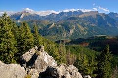 Mooi berglandschap Stock Fotografie