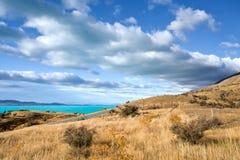 Het mooie Landschap van Nieuw Zeeland Stock Foto's