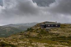 Het Mooie landschap van Noorwegen bij de zomer Royalty-vrije Stock Foto's