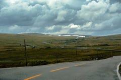 Het Mooie landschap van Noorwegen bij de zomer Royalty-vrije Stock Afbeelding