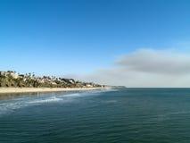 Het mooie landschap van San Clemente royalty-vrije stock afbeelding