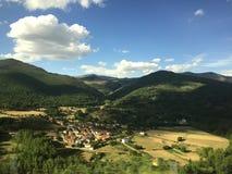 Het mooie landschap van Spanje stock foto