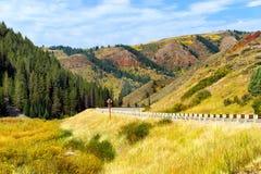 Het mooie Landschap van Wyoming royalty-vrije stock fotografie