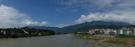 Het mooie landschap in Yaan stock foto's