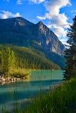 Het mooie Meer Louise in Alberta, Canada Stock Foto's