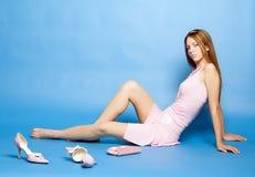 Het mooie meisje Royalty-vrije Stock Afbeelding