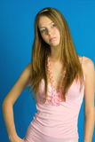 Het mooie meisje Royalty-vrije Stock Fotografie