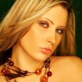 Het mooie Meisje van de Blonde Stock Afbeeldingen