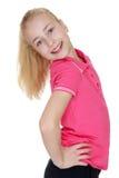Het mooie Meisje van de Blonde royalty-vrije stock afbeelding