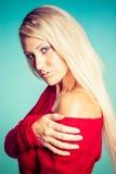 Het mooie Meisje van de Blonde Royalty-vrije Stock Foto's