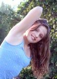 Het mooie Meisje van de Tiener Stock Afbeelding