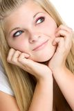 Het mooie Meisje van de Tiener Stock Fotografie
