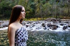 Het Mooie Meisje van de zomer Stock Foto's