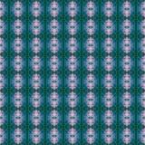 Het mooie naadloze oostelijke patroon van de tapijtdecoratie, abstract ornament van ronde en vierkante of ruitelementen De textuu Royalty-vrije Stock Afbeeldingen