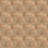 Het mooie naadloze oostelijke patroon van de tapijtdecoratie, abstract ornament van ronde en vierkante of ruitelementen De textuu Stock Fotografie