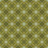 Het mooie naadloze oostelijke patroon van de tapijtdecoratie, abstract ornament van ronde en vierkante of ruitelementen De textuu Stock Foto's
