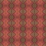 Het mooie naadloze oostelijke patroon van de tapijtdecoratie, abstract ornament van ronde en vierkante of ruitelementen De textuu Royalty-vrije Stock Foto's