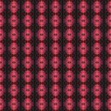 Het mooie naadloze oostelijke patroon van de tapijtdecoratie, abstract ornament van ronde en vierkante of ruitelementen De textuu stock illustratie