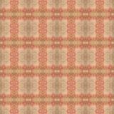 Het mooie naadloze oostelijke patroon van de tapijtdecoratie, abstract ornament van ronde en vierkante of ruitelementen De textuu royalty-vrije illustratie
