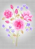 Het mooie ontwerp van het bloemboeket Royalty-vrije Stock Afbeeldingen