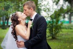 Het mooie Paar van het Huwelijk Royalty-vrije Stock Afbeelding