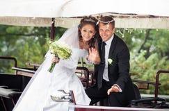 Het mooie Paar van het Huwelijk Royalty-vrije Stock Foto