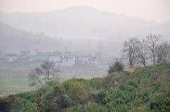 Het mooie platteland China Stock Afbeeldingen