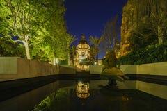 Het mooie Stadhuis van Pasadena dichtbij Los Angeles, Californië Royalty-vrije Stock Fotografie