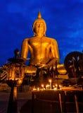 Het mooie Standbeeld Boedha Stock Afbeeldingen
