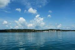 Het mooie strand bij het Eiland van Phu Quoc, Vietnam Stock Foto's