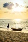 Het mooie strand, Chonburi Thailand Royalty-vrije Stock Fotografie