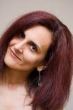 Het mooie vrouw glimlachen Royalty-vrije Stock Afbeelding