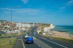 Het mooie zijaanzicht van het land rond West-Sussex royalty-vrije stock afbeeldingen
