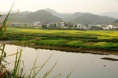 Het mooiste dorp in China Stock Foto