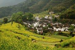 Het mooiste dorp in China Stock Fotografie