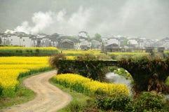 Het mooiste dorp in China Stock Foto's