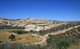 Het mormoonse Panorama van Rotsen Stock Fotografie