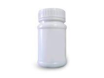 Het morsen van pillen op oppervlakte royalty-vrije stock afbeelding
