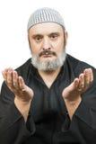 Het moslimmens bidden. Royalty-vrije Stock Foto's