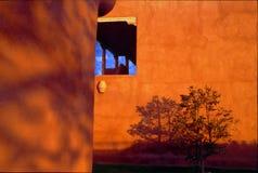 Het Motel van Taos - September 1995 royalty-vrije stock afbeeldingen