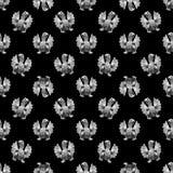 Het Motief Naadloos Patroon van het demonbeeldhouwwerk Royalty-vrije Stock Foto's