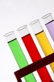 Het motief van de chemie stock foto's