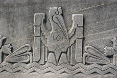 Het Motief van de pelikaan royalty-vrije stock afbeelding