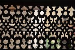 Het motief van de sultan barqoq deur in Egypte royalty-vrije stock foto