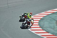 het motorrijden van 24 uur Catalonië-Spanje Royalty-vrije Stock Fotografie