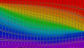 Het mozaïek van de regenboog Royalty-vrije Stock Afbeeldingen